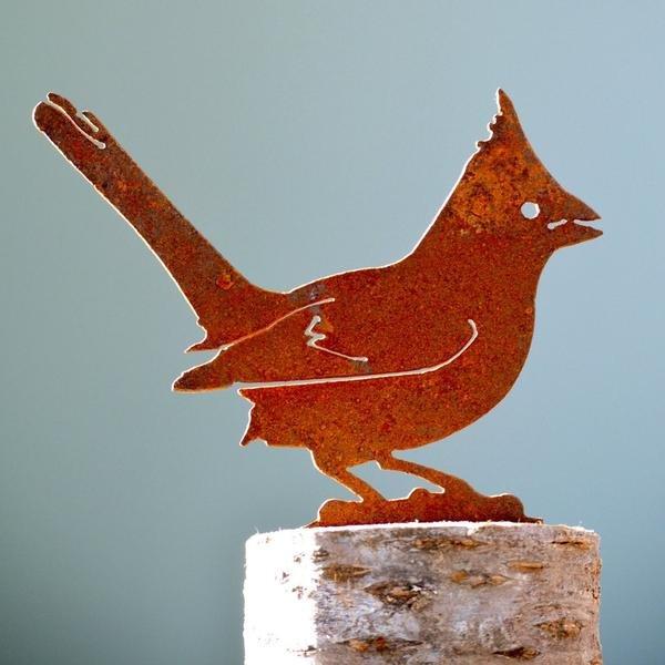 Cardinal Rusty Bird