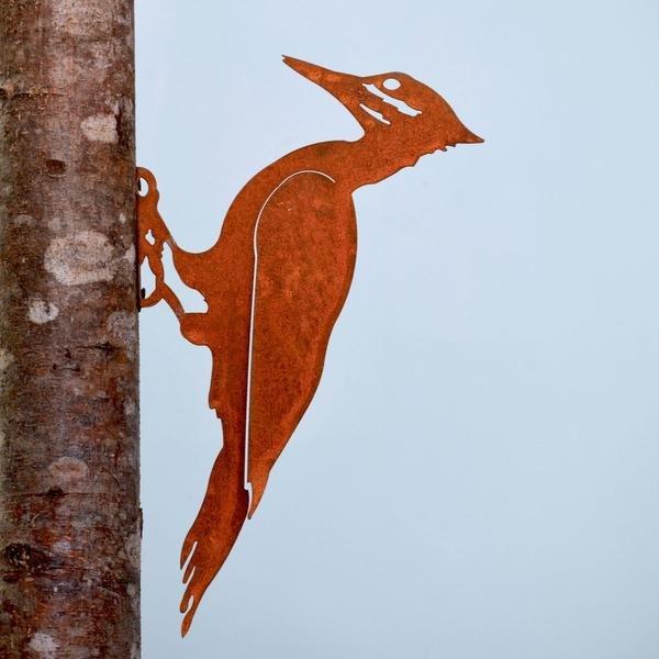 Pileated Woodpecker Rusty Bird