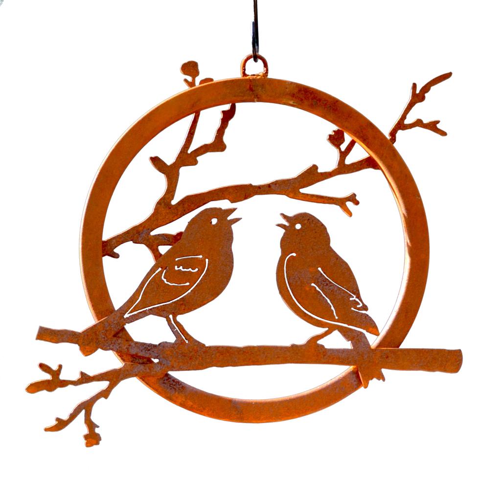 Love Birds Branch Ring