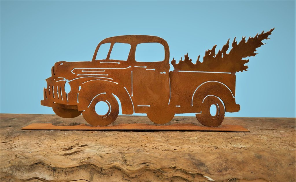 Classic Truck Cut-Out Pop-Up