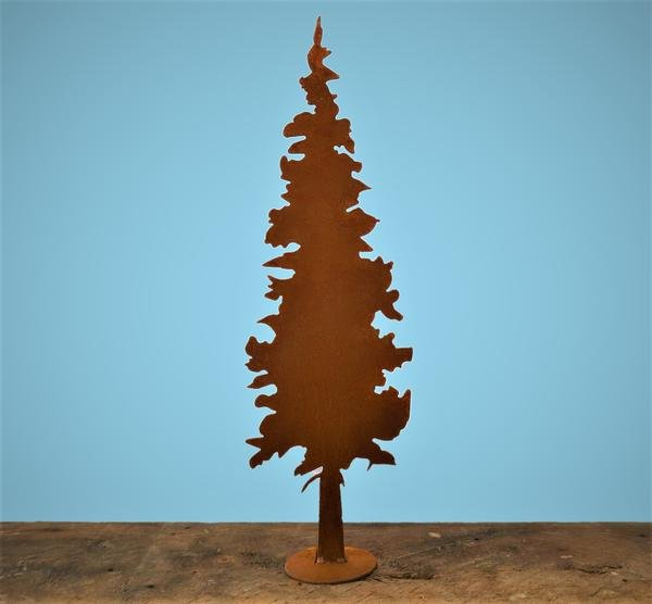 Rusty Fir Tree - Large