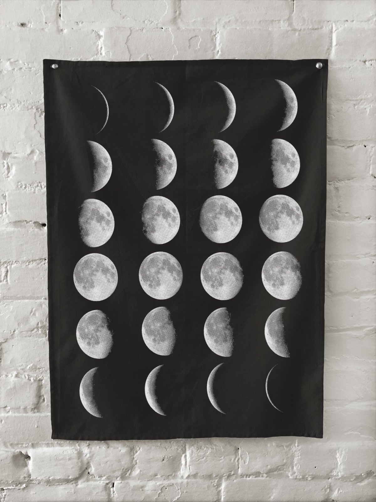 Moon Phases Kitchen Towel