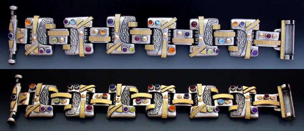 14K & Sterling BSG3 Bracelet