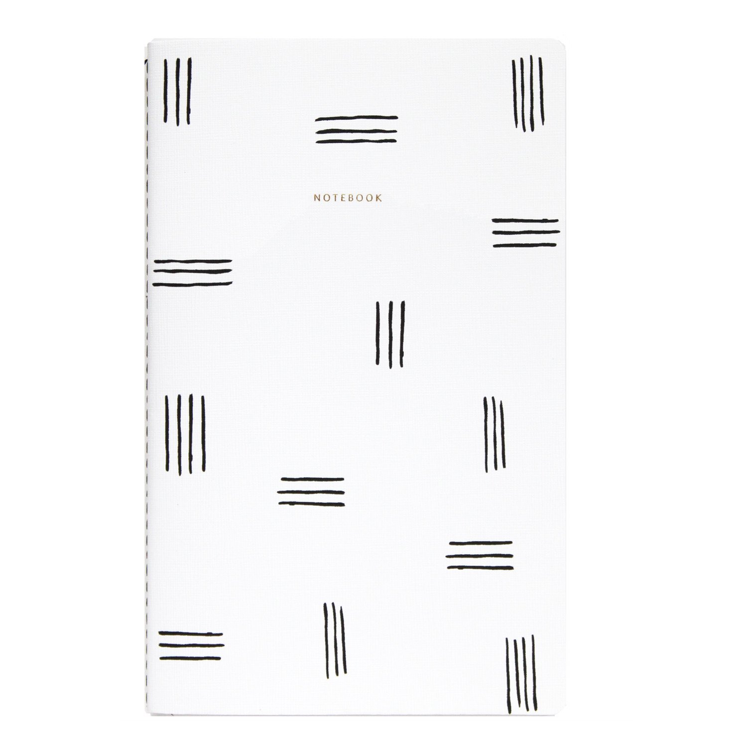 Lines Canvas Notebook
