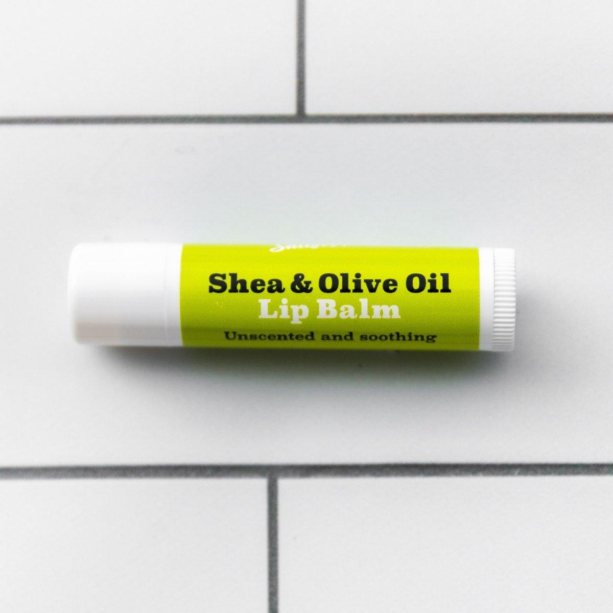 Shea and Olive Oil Lip Balm