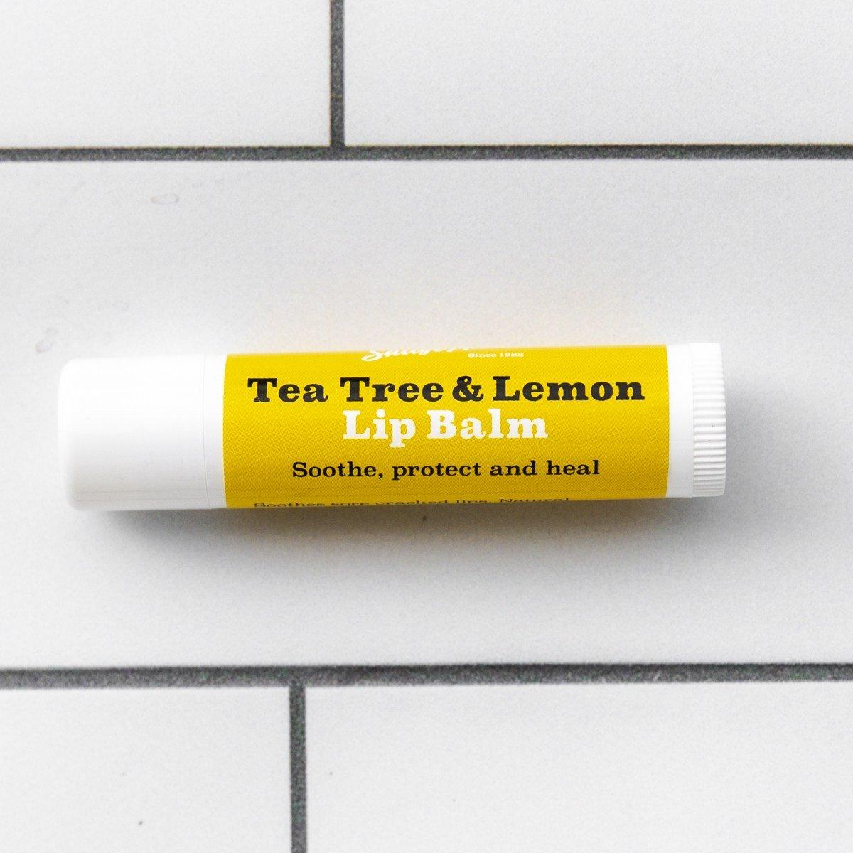 Tea Tree and Lemon Lip Balm