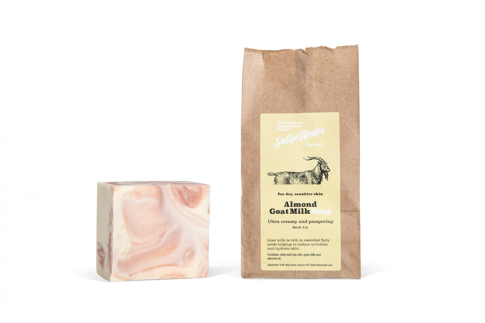 Almond Goat Milk Essential Soap
