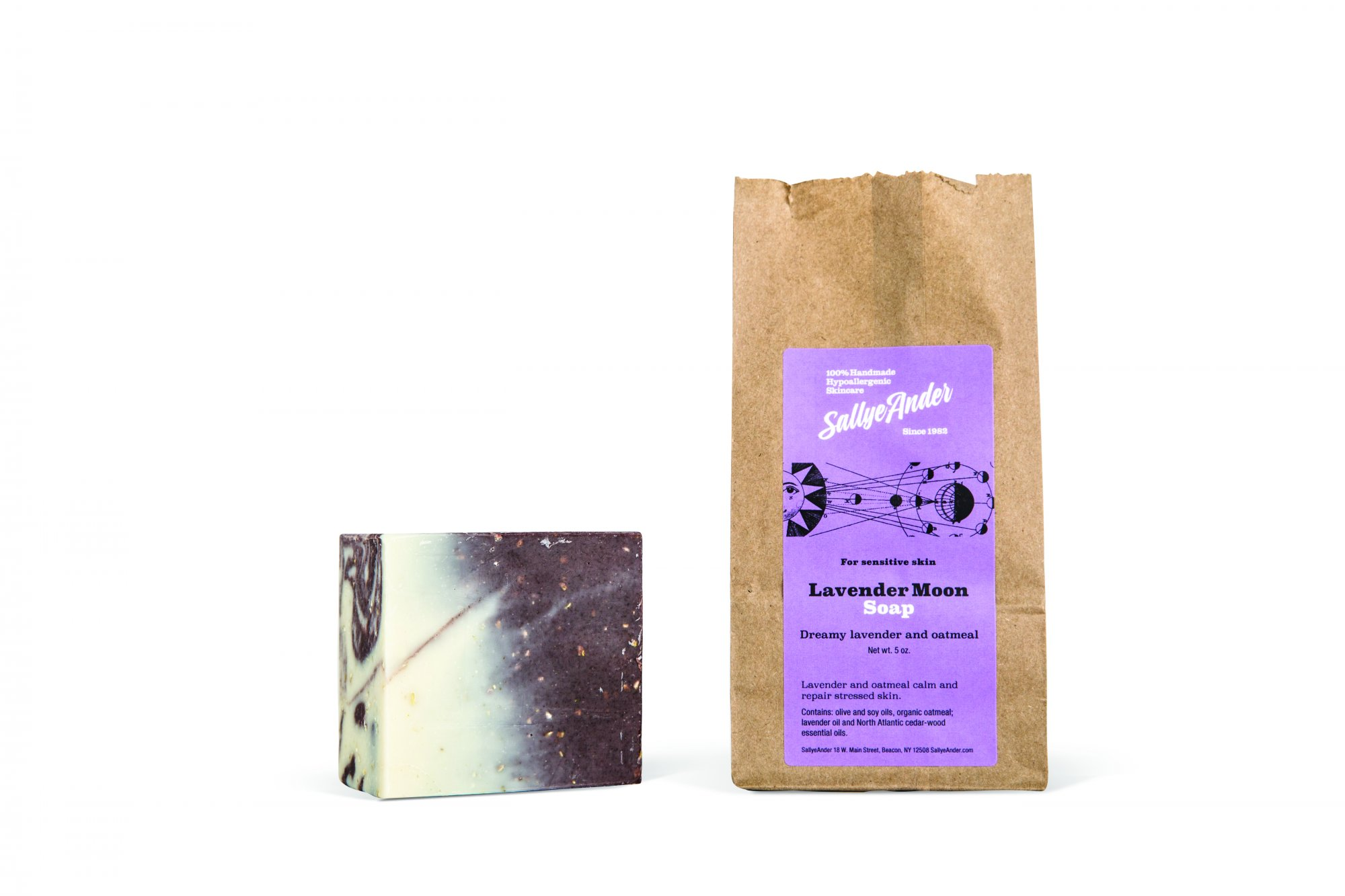 Lavender Moon Essential Soap