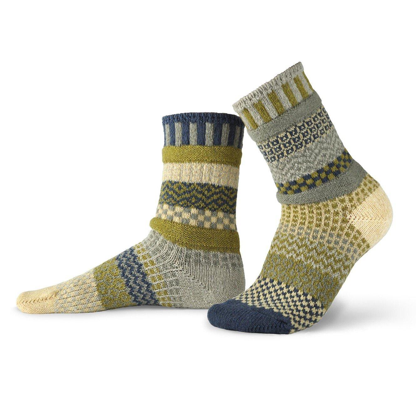 Sagebrush Adult Crew Socks