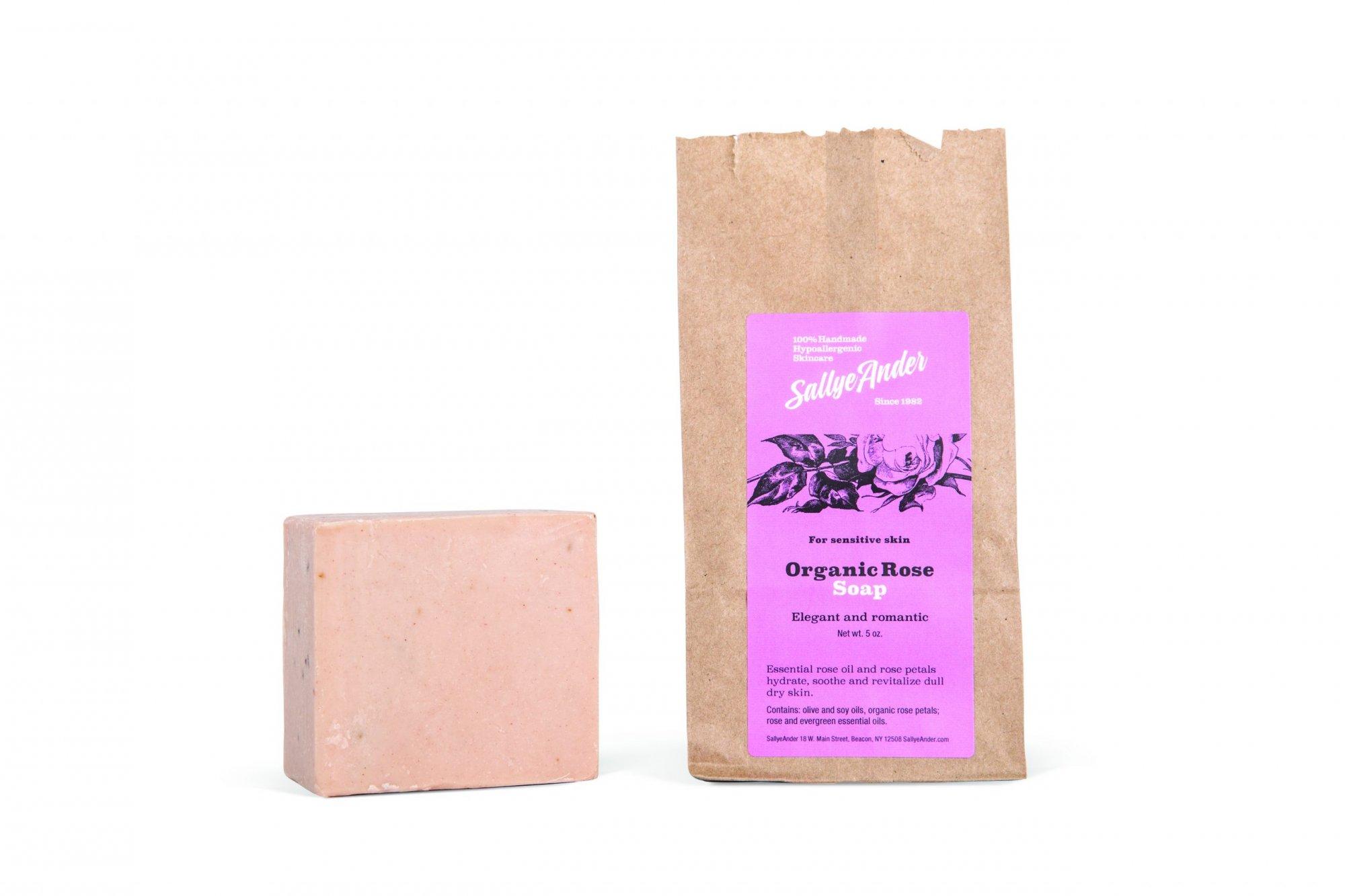 Organic Rose Essential Soap