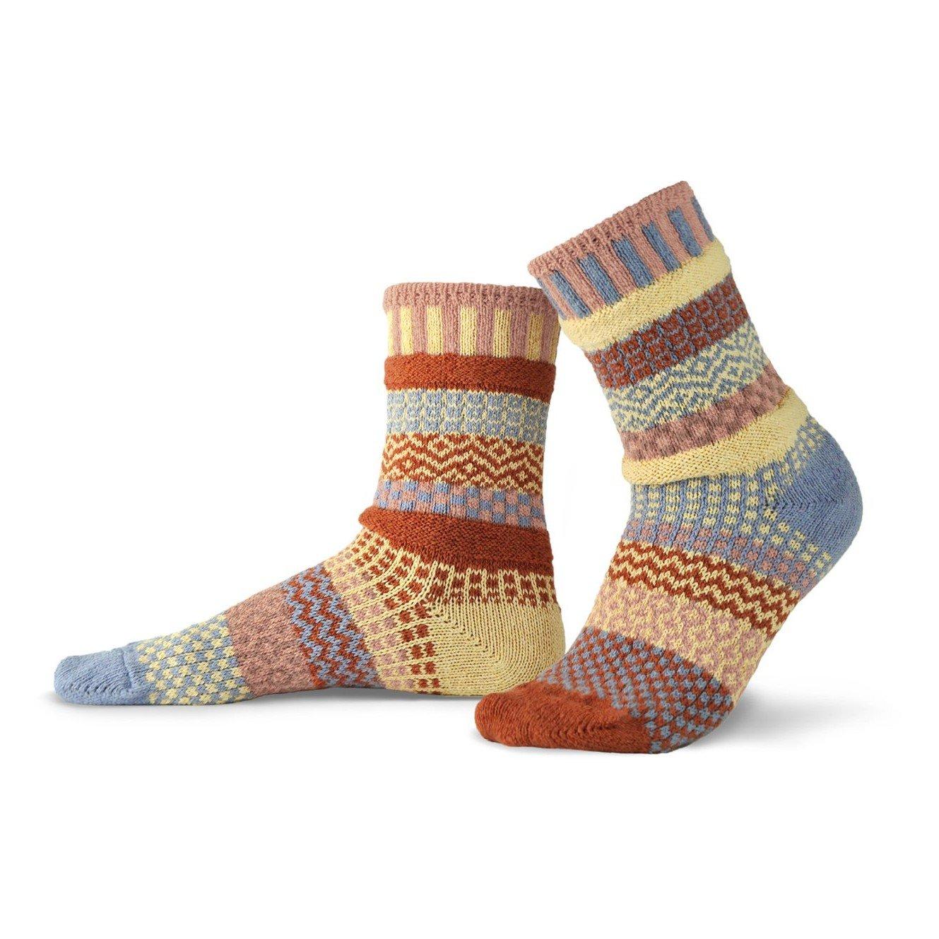 Sandstone Adult Crew Socks