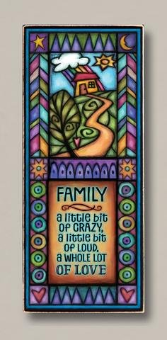 Family Plaque Whole Lot of Love