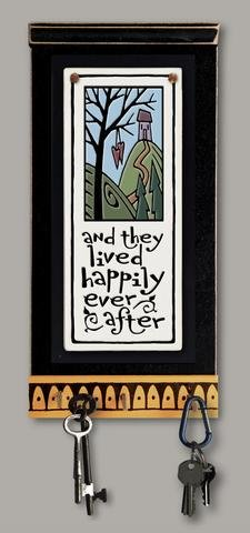 Happily Ever After Wall Key Rack