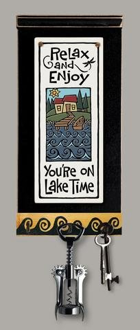 Lake Time Wall Key Rack