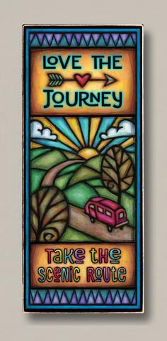 Love The Journey Plaque