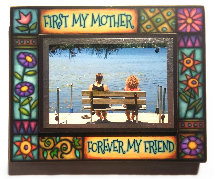 First My Mother Med Frame