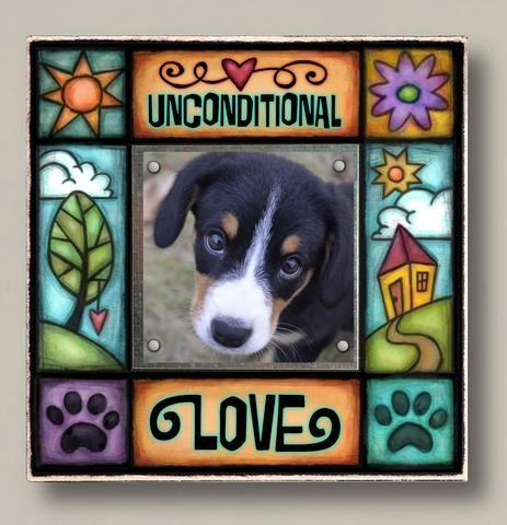 Unconditional Love Square Frame
