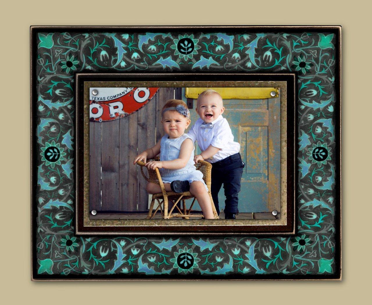 Vintage Blue Frame