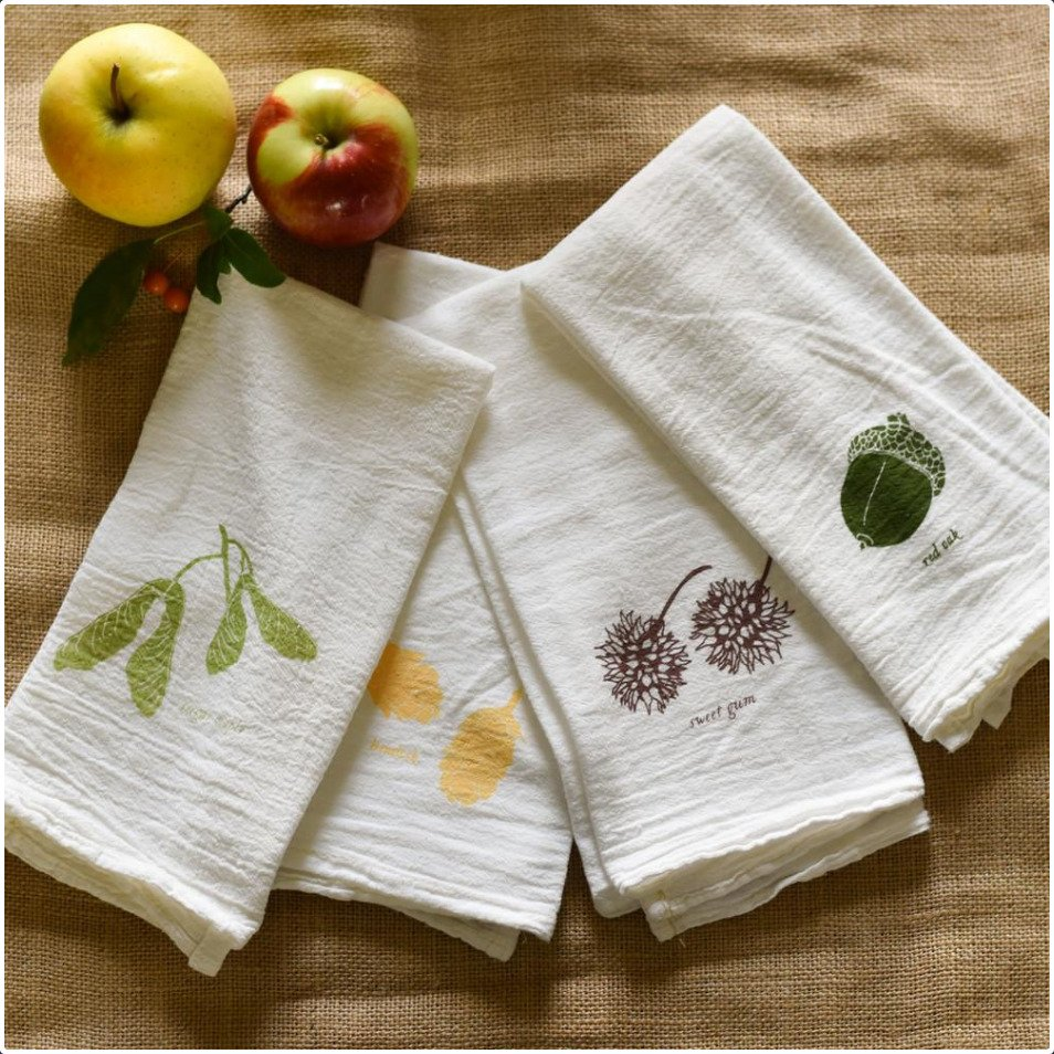 Nature's Harvest Napkin Set/4