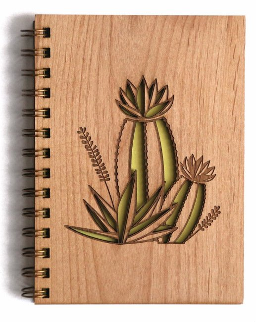 Cactus Bloom Journal