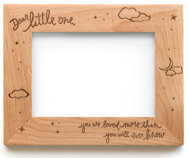 Dear Little One Wooden Frame