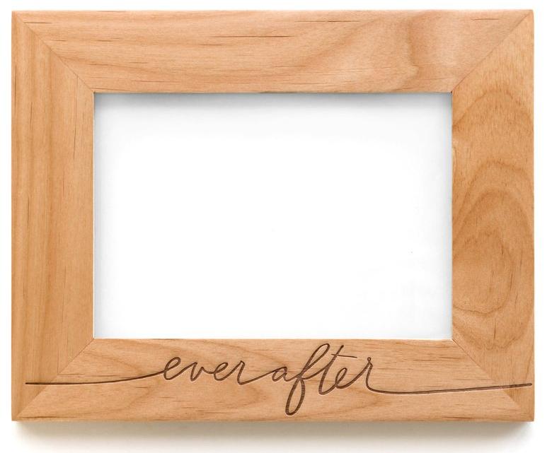 Ever After Wooden Frame