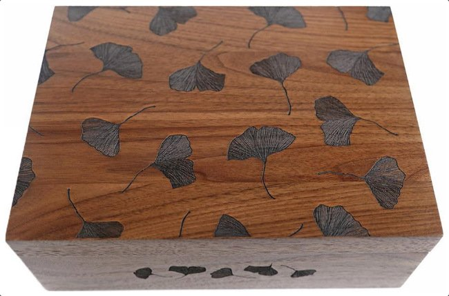 Gingko Wooden Box