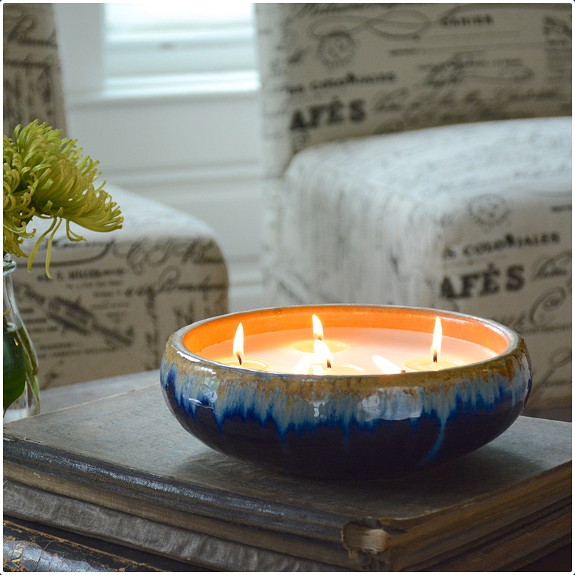 Aztec Indigo 6-Wick English Pear