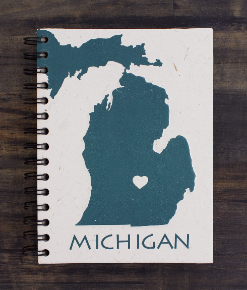 Large Michigan Notebook
