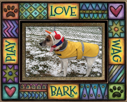 Love/Play/Bark/Wag Med Frame