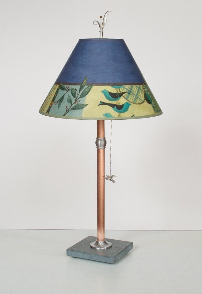 Capri Periwinkle Table Lamp