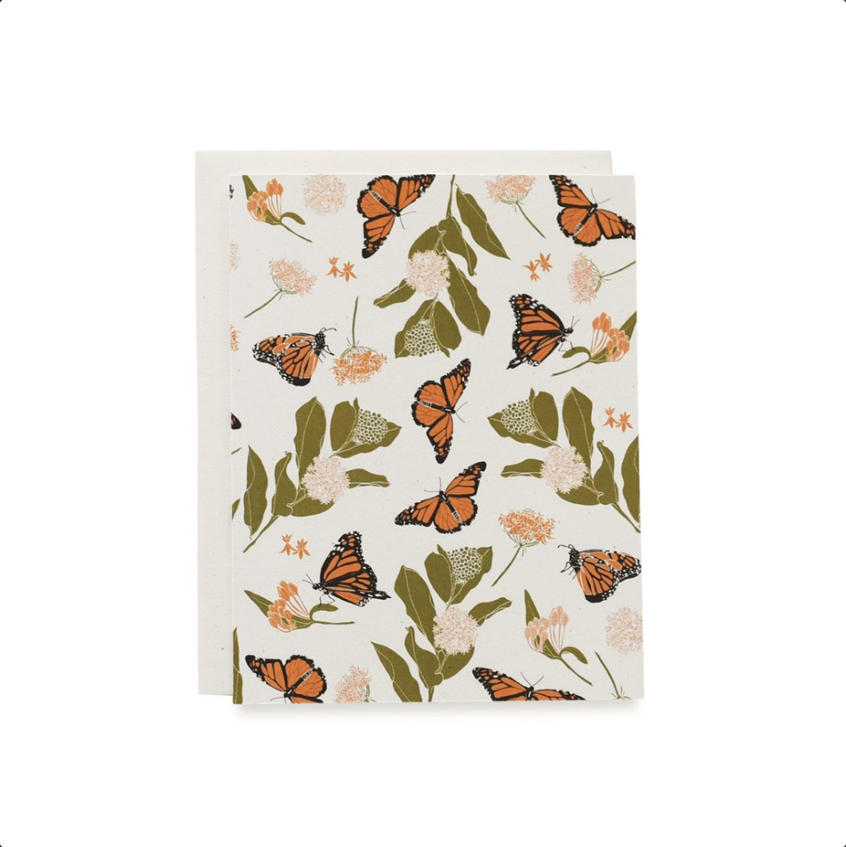 Monarch & Milkweeds Card Set