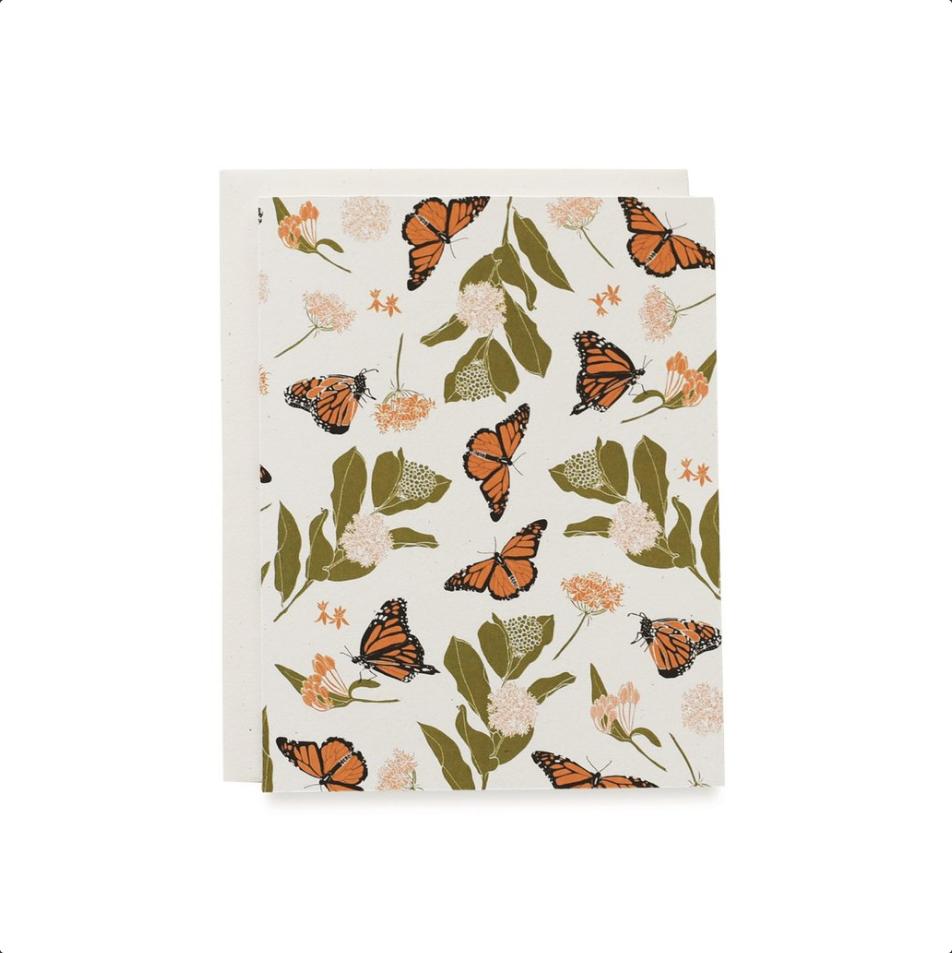 Monarch & Milkweeds Card Set