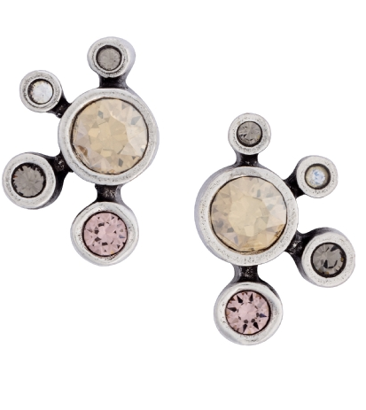 Here Comes Sun Earrings in Champagne