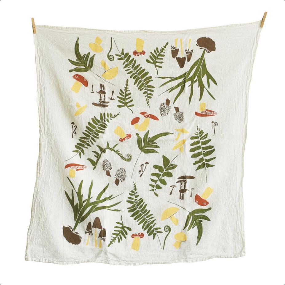 Forest Finds Kitchen Towel