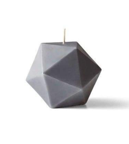 Pentagon Beeswax Candle