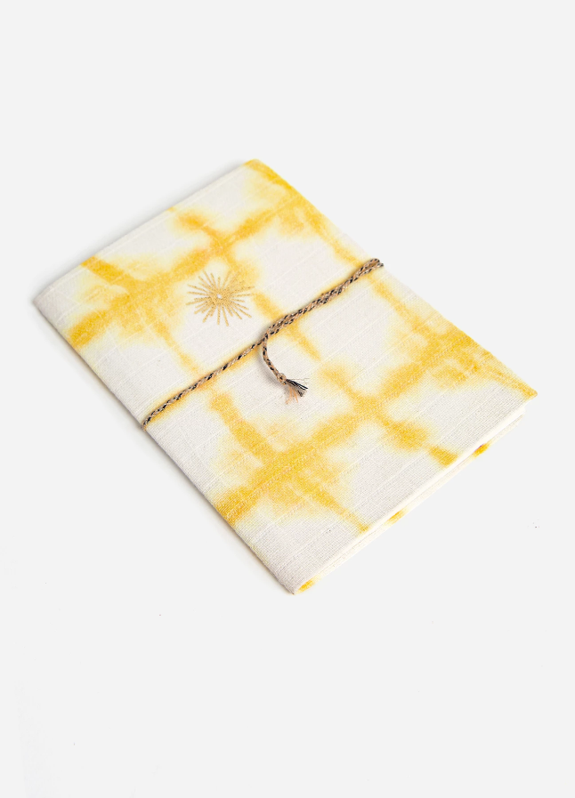 Sunburst Shibori Notebook