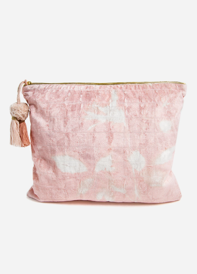 Blush Bouquet Large Pouch