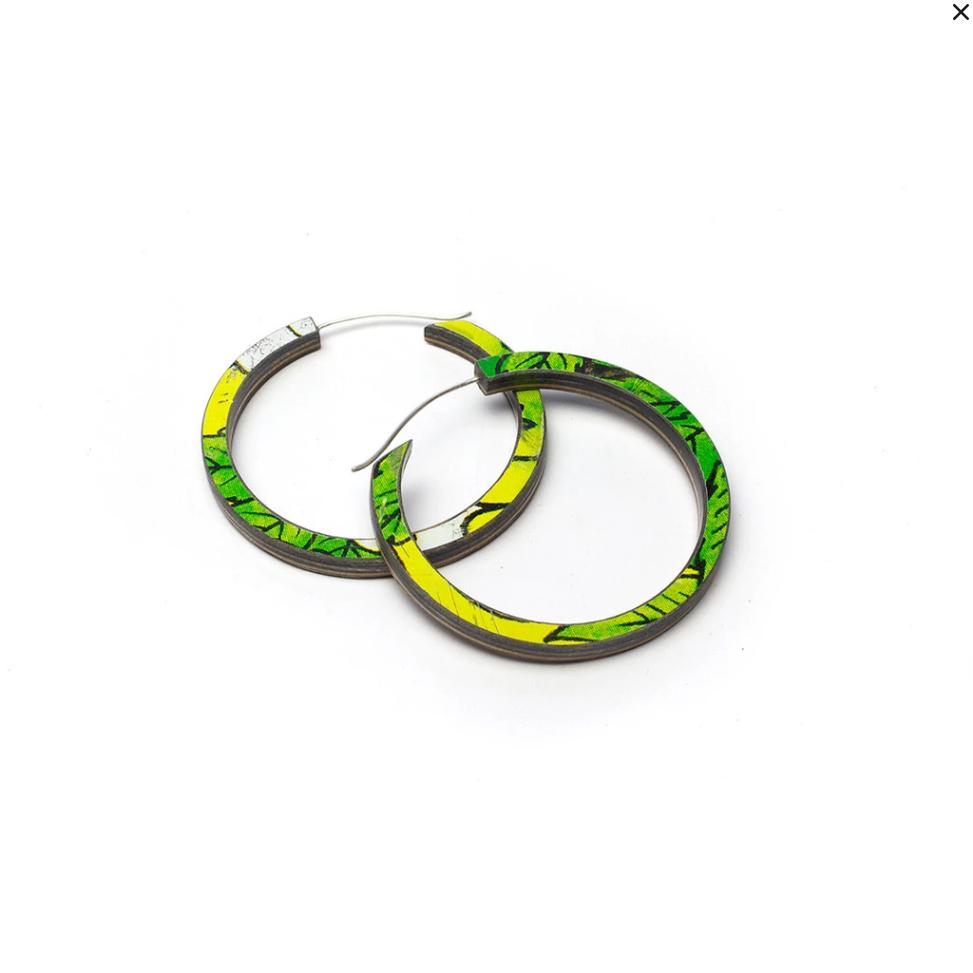 Orbit Skateboard Earrings