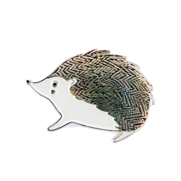 Bramble Hedgehog Enamel Pin