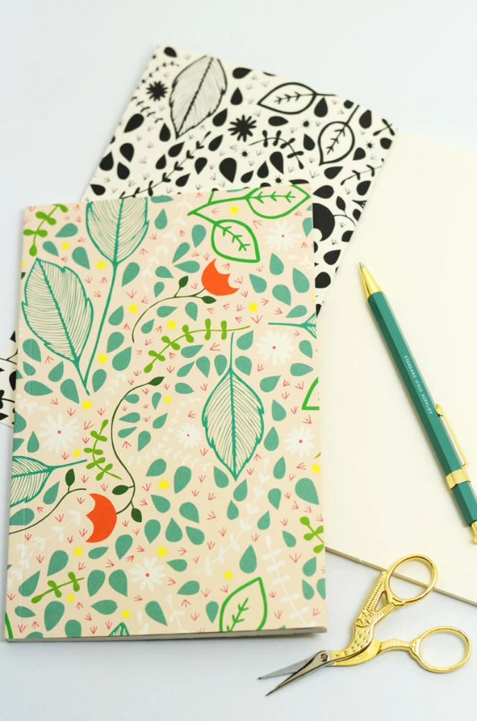 Flower Blank Journal