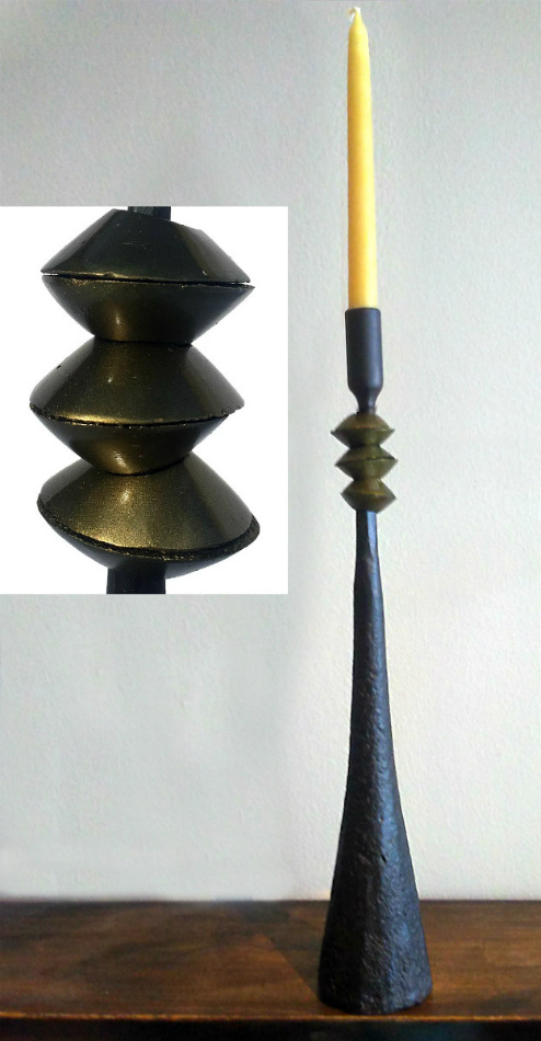 Northern Tribe #6 Candle Holder (narrow)
