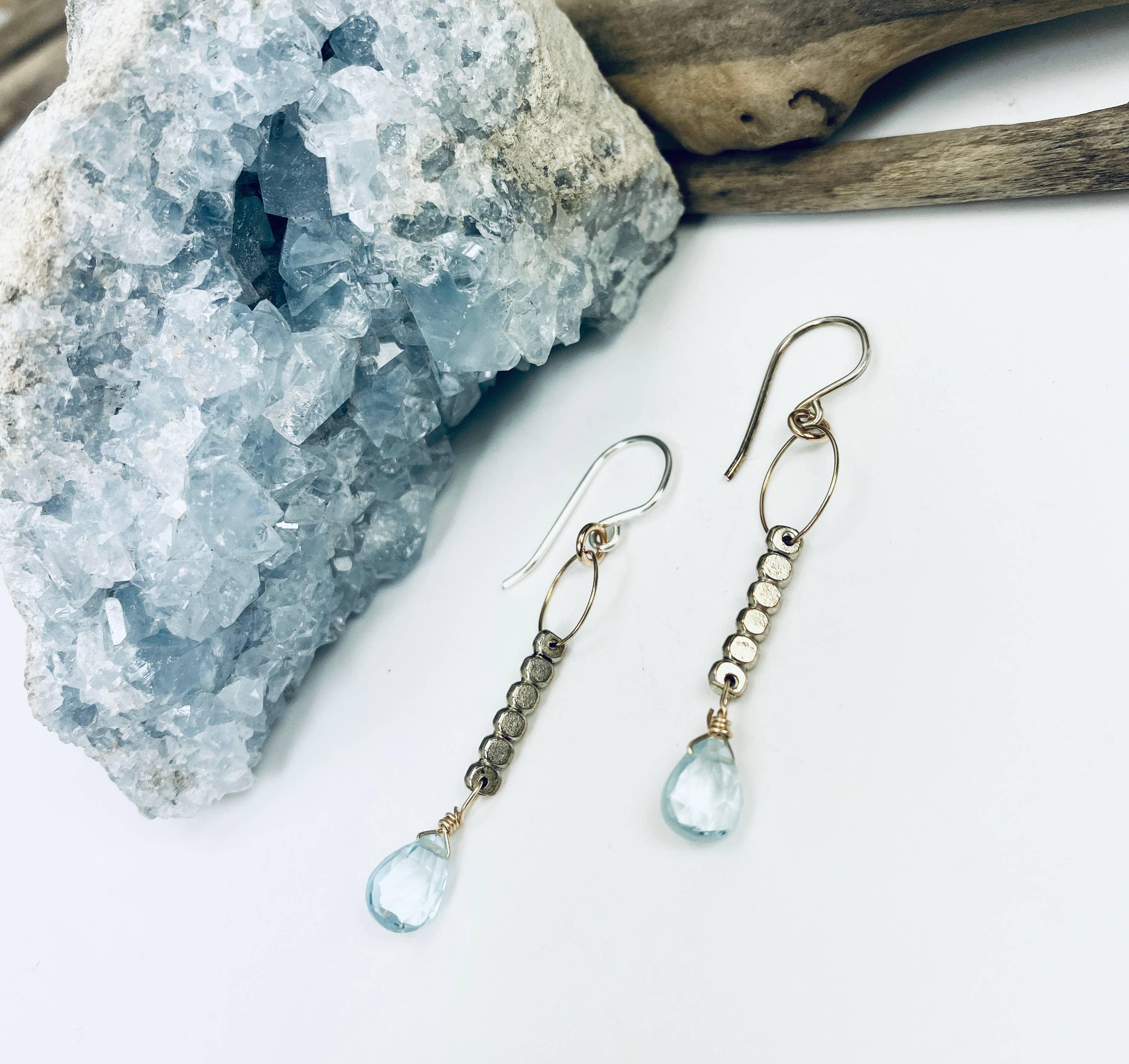 Blue Topaz Serenity Dream Earrings