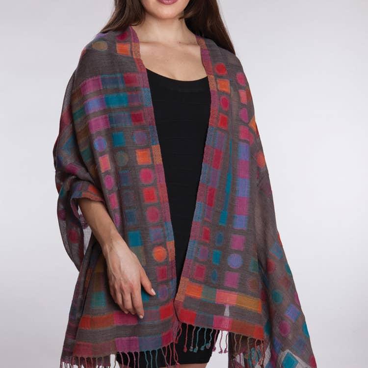 Kalya Wool & Cotton Scarf