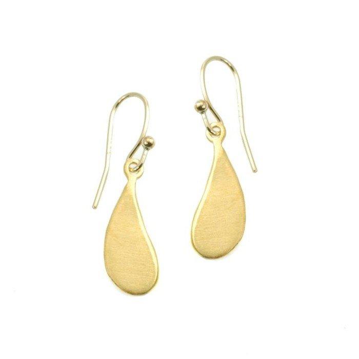Small Drop Vermeil Earring