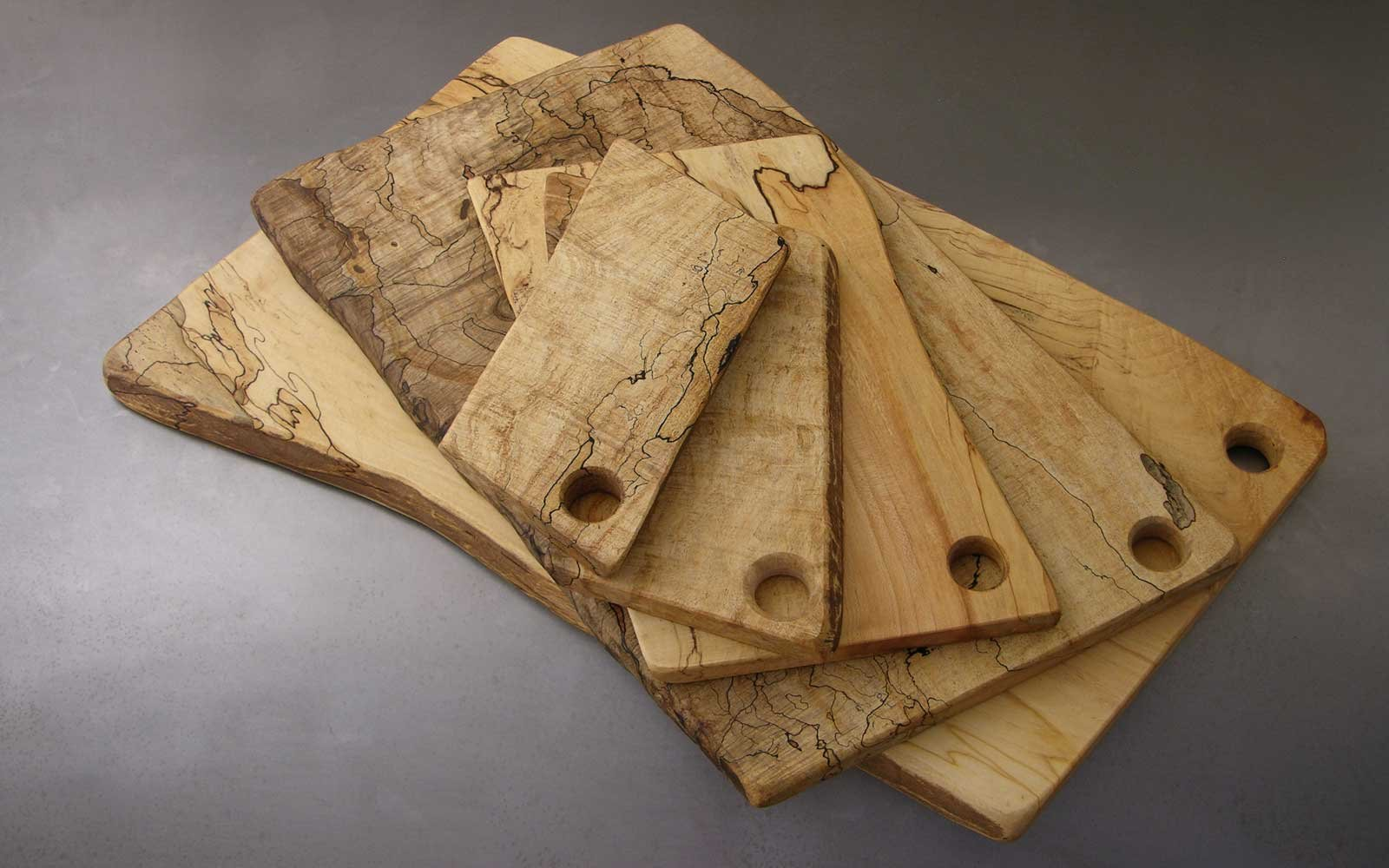 15 Spalted Maple Cutting Board