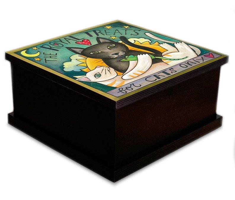 Royal Cat Treat Box