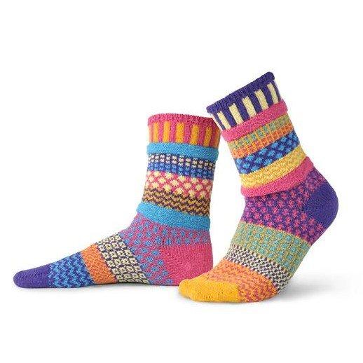 Sunny Adult Crew Socks