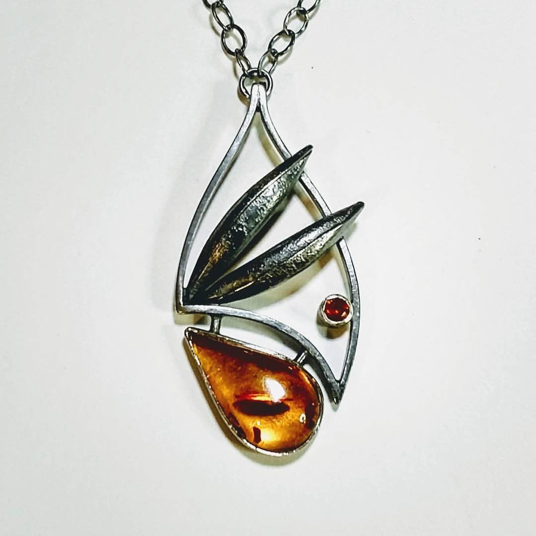 Gold Wing Pendant