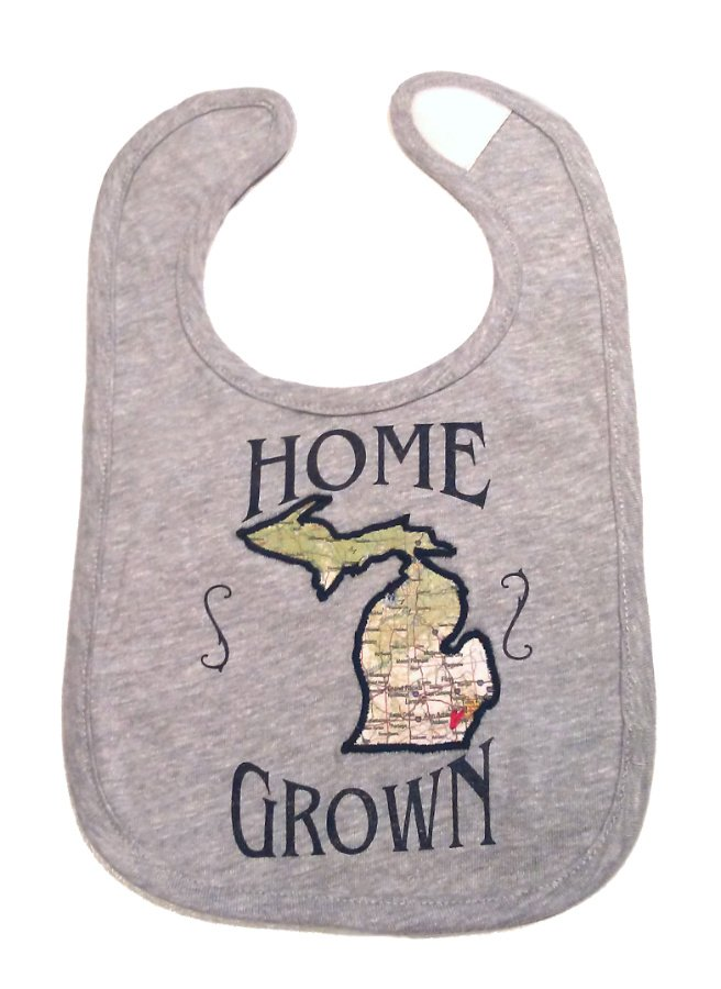 Home Grown Mi Baby Bib